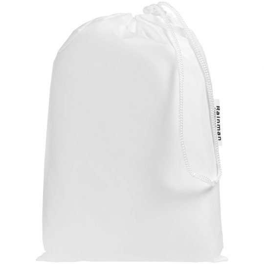 Дождевик «Не сахар», белый, размер XL