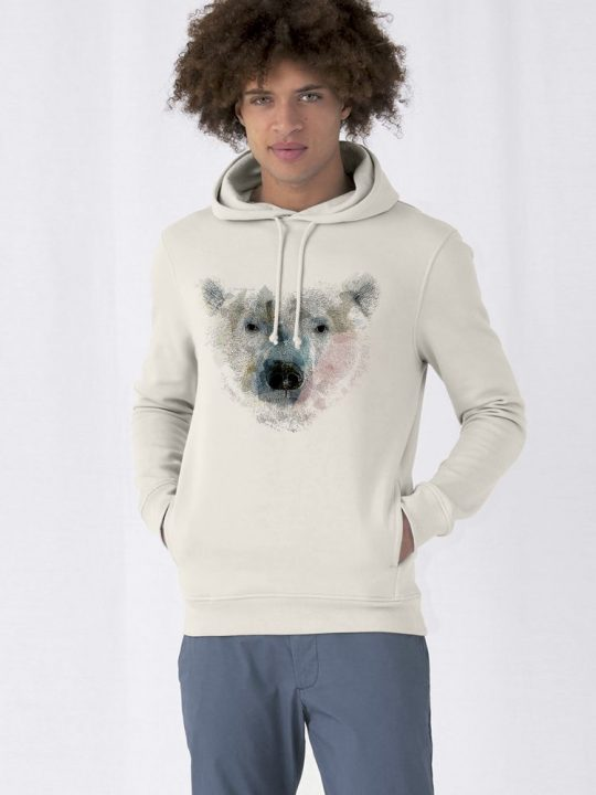 Худи Polar Bro, молочно-белое, размер S