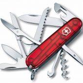 Офицерский нож Huntsman 91, прозрачный красный