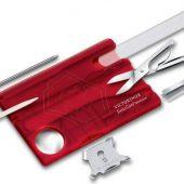 Набор инструментов SwissCard Nailcare, красный