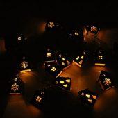 Елочная гирлянда с лампочками Зимняя сказка деревянная, арт. 020127003