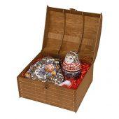 Подарочный набор Матрешка: штоф 0,5л, платок, арт. 020618703