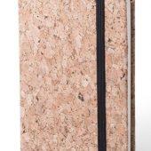 Блокнот для записей CLIMER, бежевый; 8,9 x 14 x 1,4 cm.; 80 листов