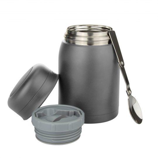 Термос для еды вакуумный, герметичный Vitto, 700 ml, серый