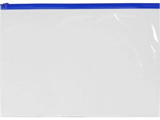 Папка на молнии формата А4, цвет – молнии синий, арт. 020729103