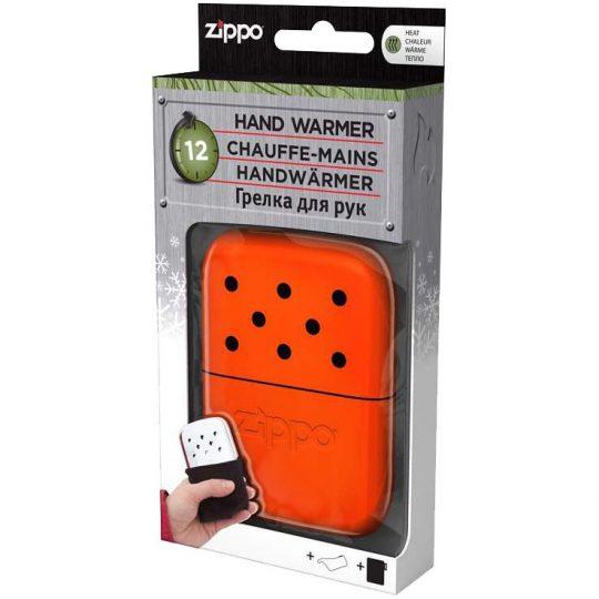 Каталитическая грелка для рук Zippo, оранжевая