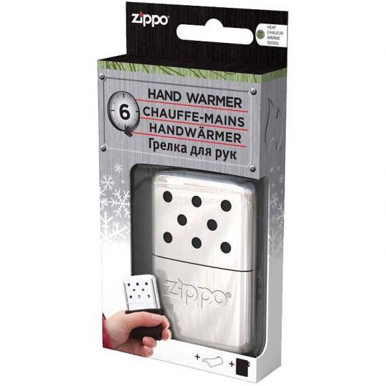 Каталитическая грелка для рук Zippo Mini, серебристая