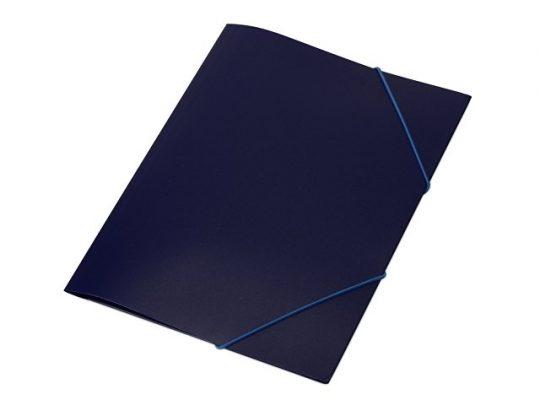 Папка формата А4 на резинке, синий, арт. 020728203