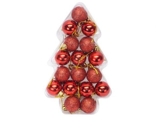 Набор новогодних шаров в футляре-елочке, арт. 020742203