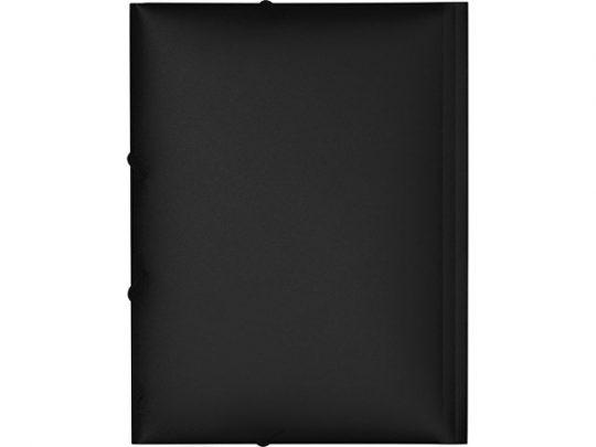 Папка формата А4 на резинке, черный, арт. 020728003
