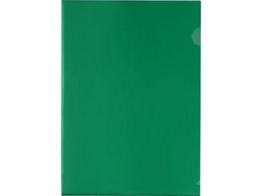 Папка-уголок прозрачный формата А4 0,18 мм, зеленый, арт. 020728503