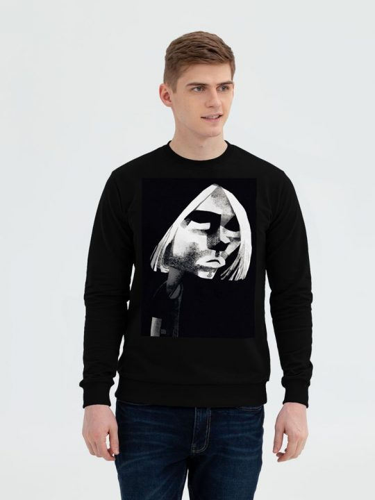 Толстовка «Меламед. Kurt Cobain», черная, размер XXL