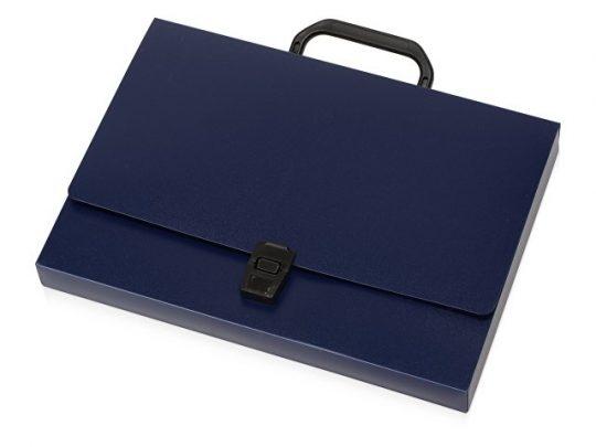 Папка-портфель А4, синий, арт. 020728803