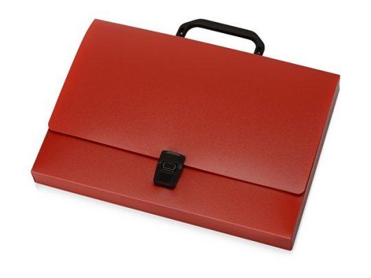 Папка-портфель А4, красный, арт. 020729003