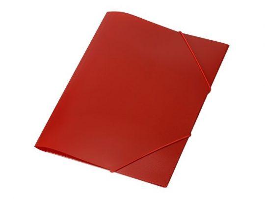Папка формата А4 на резинке, красный, арт. 020728303