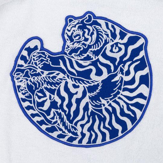 Халат унисекс «Тигр», белый, размер S/M