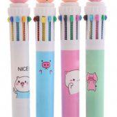 Многоцветные ручки с индивидуальным ПВХ навершием
