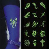 Светящиеся татуировки на заказ Tatu