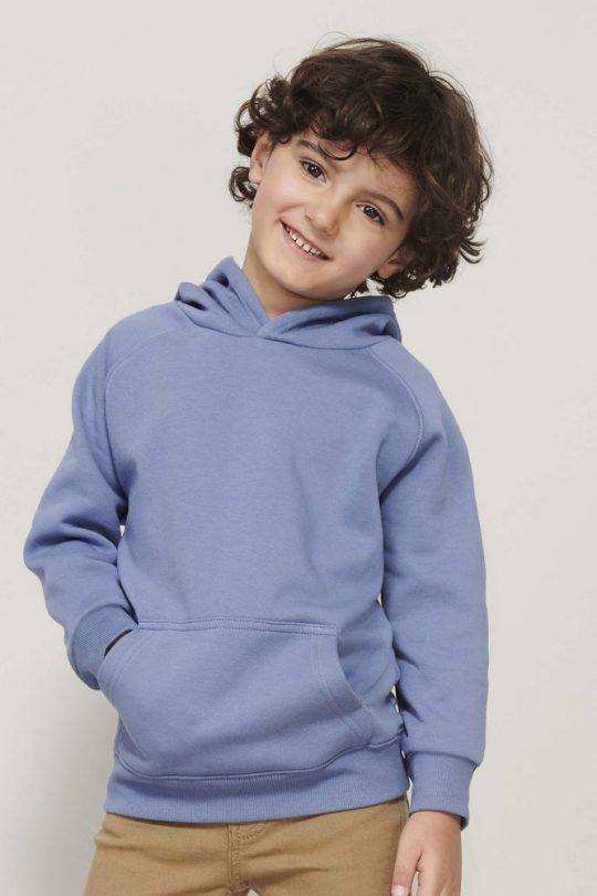 Толстовка детская Stellar Kids, синяя, на рост 130-140 см (10 лет)