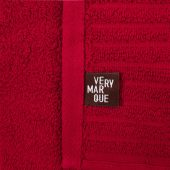 Полотенце Farbe, среднее, бордовое
