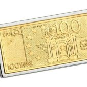 Зажим для денег Сто евро Diplomat, арт. 020997303