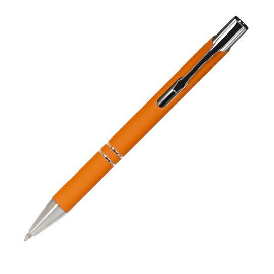 Шариковая ручка Alpha,  оранжевая