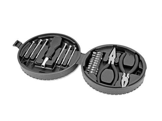 Набор инструментов, 19 предметов в футляре в виде автомобильной шины, арт. 021843903