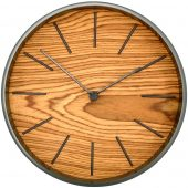 Часы настенные Largo, дуб