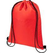 Сумка-холодильник Oriole на шнуровке на 12банок, красный, арт. 021641103