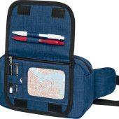 Поясная сумка Hoss, heather navy, арт. 021643303