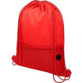 Сетчастый рюкзак со шнурком Oriole, красный, арт. 021639203