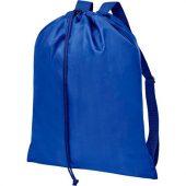 Рюкзак со шнурком и затяжками Oriole, синий, арт. 021637503