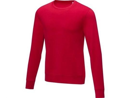 Мужской свитер Zenon с круглым вырезом, красный (S), арт. 022883203