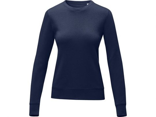 Женский свитер Zenon с круглым вырезом, темно-синий (XS), арт. 022889903