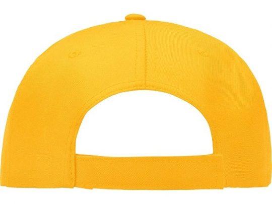 Бейсболка Poly 5-ти панельная, золотисто-желтый (56), арт. 022866803