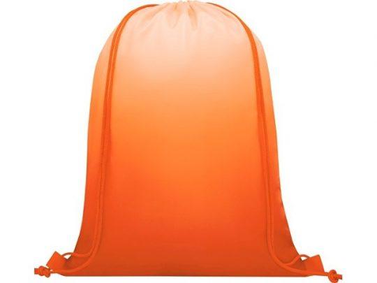 Сетчатый рюкзак Oriole со шнурком и плавным переходом цветов, оранжевый, арт. 022870803
