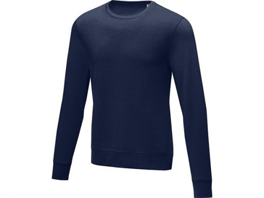 Мужской свитер Zenon с круглым вырезом, темно-синий (XS), арт. 022885003