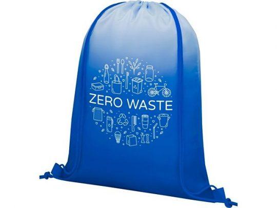 Сетчатый рюкзак Oriole со шнурком и плавным переходом цветов, синий, арт. 022870703
