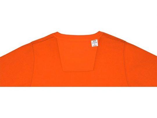 Женский свитер Zenon с круглым вырезом, оранжевый (L), арт. 022889603