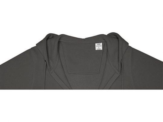 Женская толстовка на молнии Theron, storm grey (XL), арт. 022879303