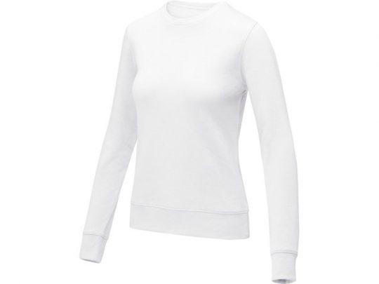 Женский свитер Zenon с круглым вырезом, белый (3XL), арт. 022888903