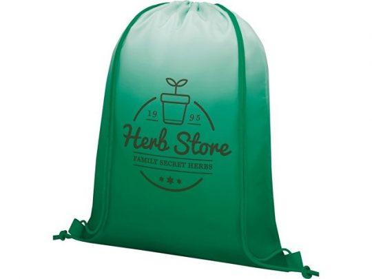 Сетчатый рюкзак Oriole со шнурком и плавным переходом цветов, зеленый, арт. 022870503
