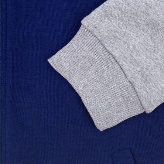 Бомбер College ярко-синий, размер L