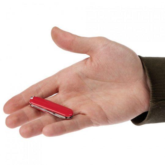 Нож-брелок Clasp, красный