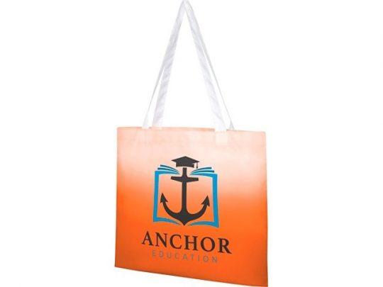 Эко-сумка Rio с плавным переходом цветов, оранжевый, арт. 022871403