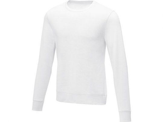 Мужской свитер Zenon с круглым вырезом, белый (5XL), арт. 022887603