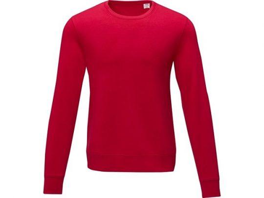 Мужской свитер Zenon с круглым вырезом, красный (M), арт. 022886203
