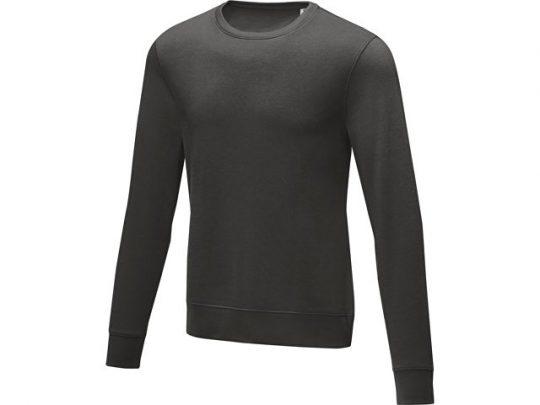 Мужской свитер Zenon с круглым вырезом, storm grey (M), арт. 022885803