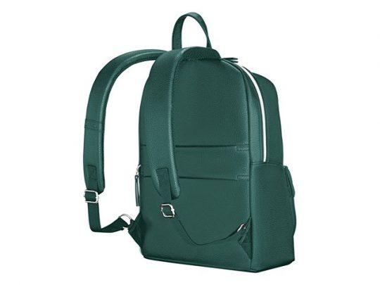 Рюкзак женский WENGER LeaMarie, ПВХ/полиэстер, 31x16x41 см, 18 л, зеленый, арт. 022867403