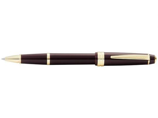 Ручка-роллер Cross Bailey Light Polished Burgundy Resin and Gold Tone, арт. 022867803